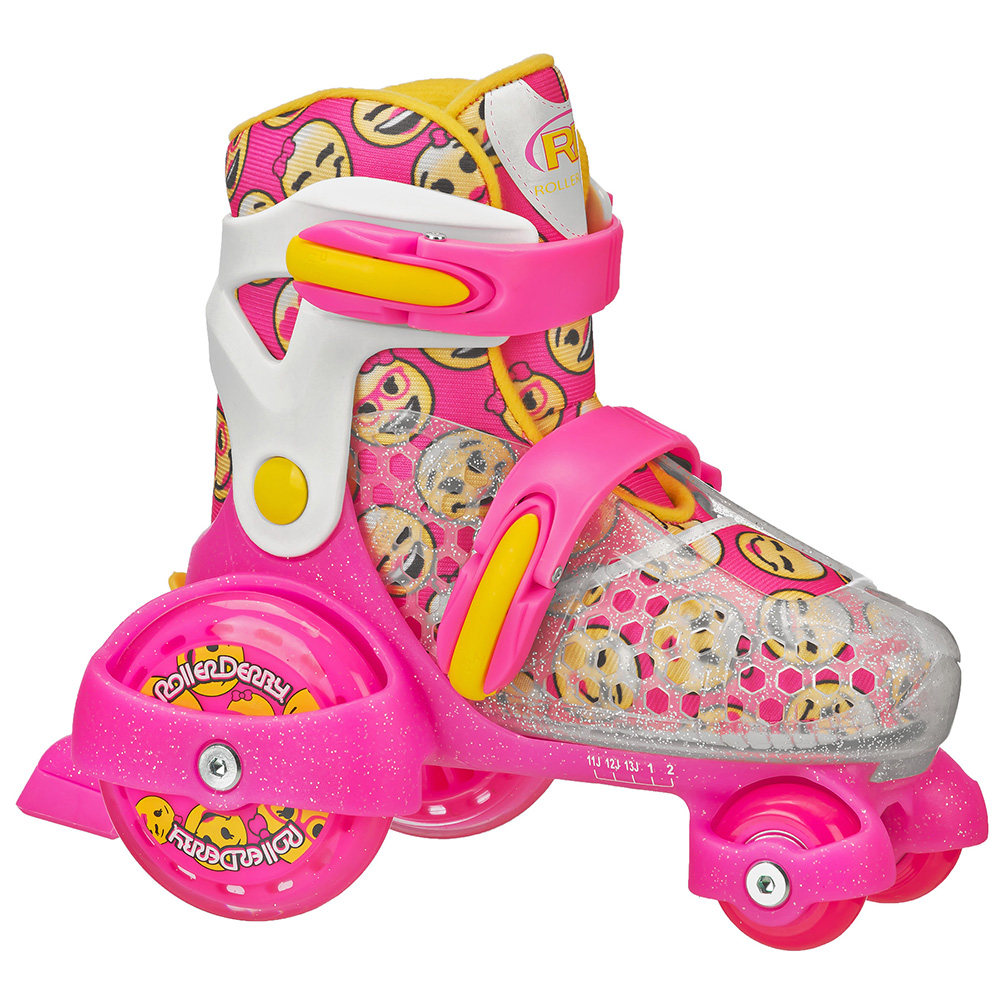 Patines PINK/YELLOW S Funroll