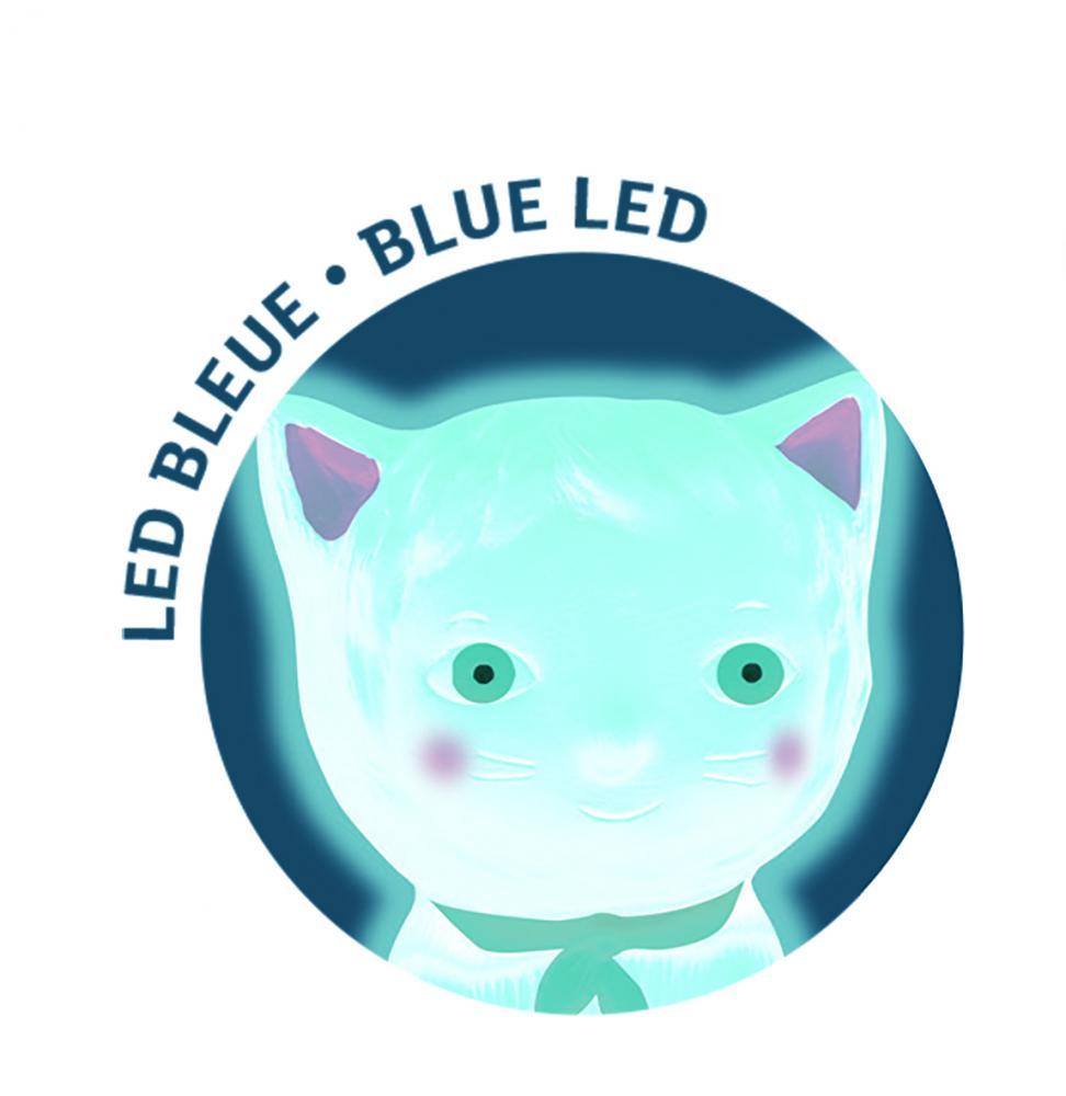 Luz nocturna Chachou Gato Azul