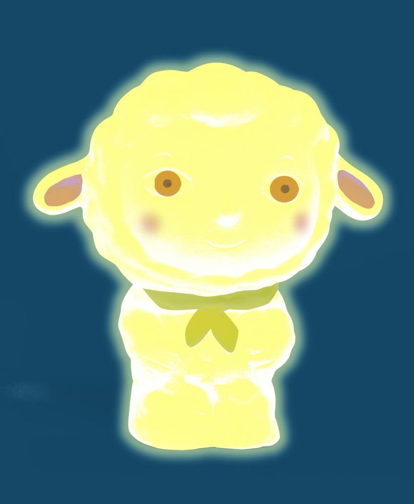Luz nocturna Woolychou Oveja Amarilla