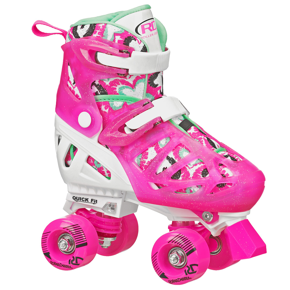 Patines WHITE/PINK M Trac Star